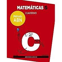 Matemáticas 5. Método ABN. Cuaderno.