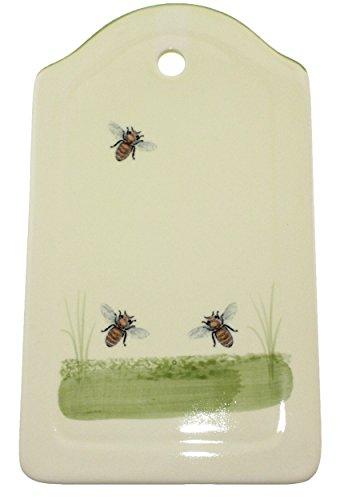 Zeller Keramik Brotplatte Biene