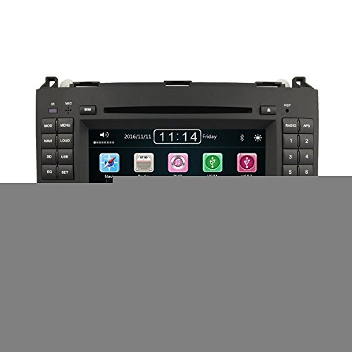 "Autoradio 7"" pouces pour Mercedes classe A / B sprinter / viano CD DVD USB SD GPS bluetooth stereo touch screen"