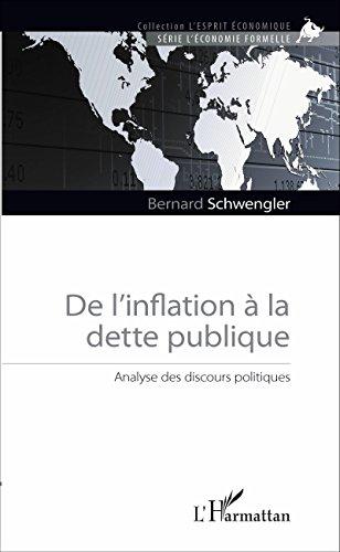 De l'inflation à la dette publique: Analyse des discours politiques