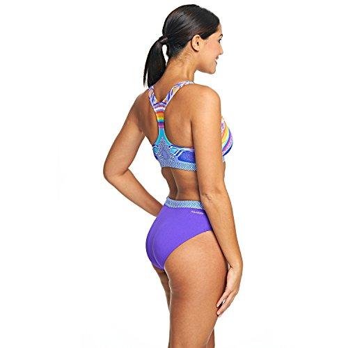 Zoggs Damen Lara Muscle (2 Stück) Multi-Colour/Soho