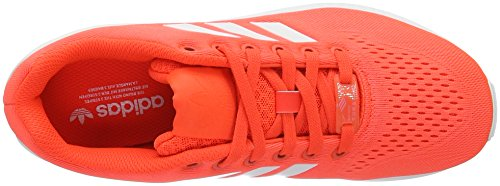 adidas Zx Flux Em, Sneakers Basses Mixte Adulte Rouge (Solar Red/Ftwr White/Solar Red)