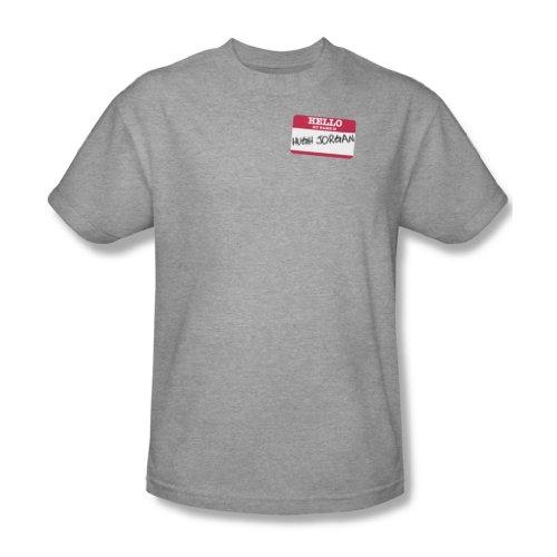 Hallo Hugh Jorgan - Männer T-Shirt In Heather, XXX-Large, Heather