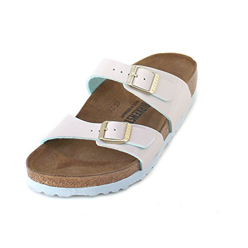 Grigio 42 Birkenstock Sydney BF Lack W Sandalo light grey IT stretta  7e8