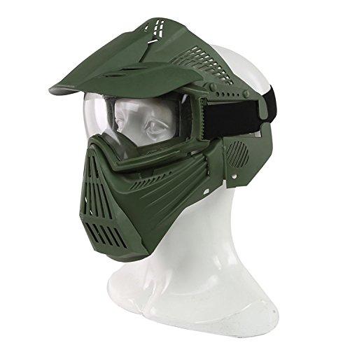 Haoyk táctico militar Airsoft cara llena máscara