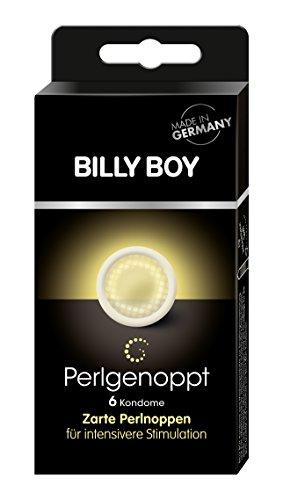 Billy Boy Perlgenoppt 6er - transparente Kondome mit zarten Perlnoppen
