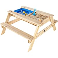 Plum 25078 - Surfside, mesa de picnic infantil con piscina y piscina de arena