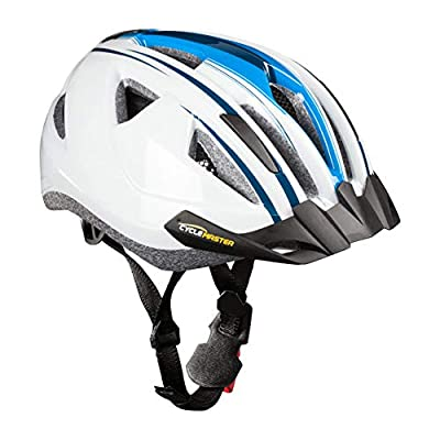 Cycle Master LED Bicycle Helmet for Men and Women Mountain Bike Helmet 11 Channel Ventilation System Various Models and Sizes by SPEQ GmbH
