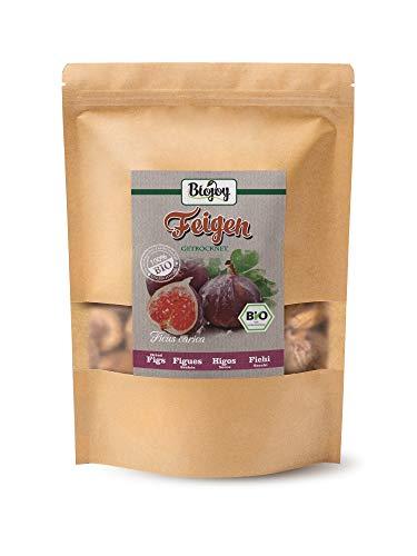 getrocknete BIO-Feigen | 100% ungeschwefelte und ungezuckerte Feigen | Trockenfrüchte ohne Zucker & Konservierungsstoffe | komplett naturbelassen & ohne Schwefel (1 kg) (Bio-trockenfrüchte)
