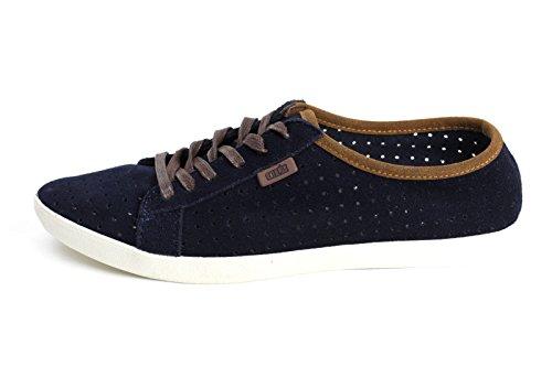 Zapatos Para Hombres En Piel Con Cordones Casual Suede Comfort Fashion Moccassies Navy