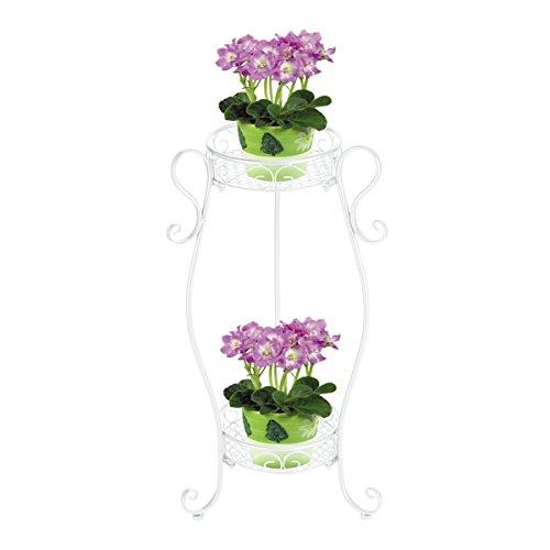 garbagemall-2-niveles-scroll-interior-metal-plantas-flores-pot-rack-estante-de-exhibicion-para-2-mac