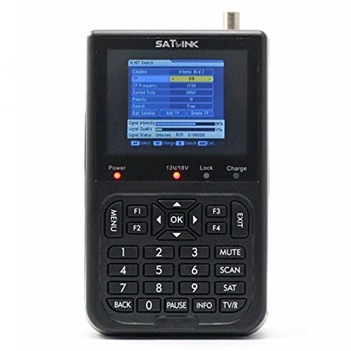 Satlink WS-6906 - Localizador digital de señal de satélite (pantalla 3.5',...
