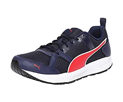 Puma Men's Peacoat-Ribbon Red White Sneakers-6 UK/India (39 EU) (4060979208308)