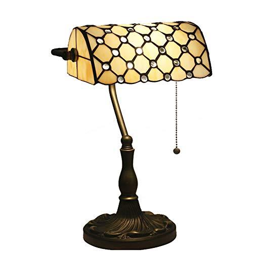 Tiffany Style Desk Light Bankers Lámpara de escritorio Iluminación ...
