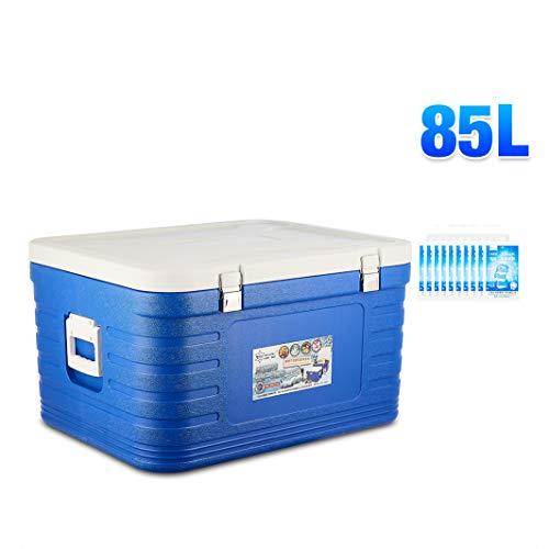 JCOCO 85L Cool Freeze Zipperless Hardbody Cooler -