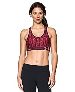 Under Armour BH Still Gotta Have it Bra Damen Sport BH für P, Damen, rosa (Pink Shock/Afterglow)