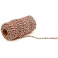 Nordvpn 100M Cuerda del cordón de la Cuerda de la Guita del algodón del Regalo del Abrigo de Navidad