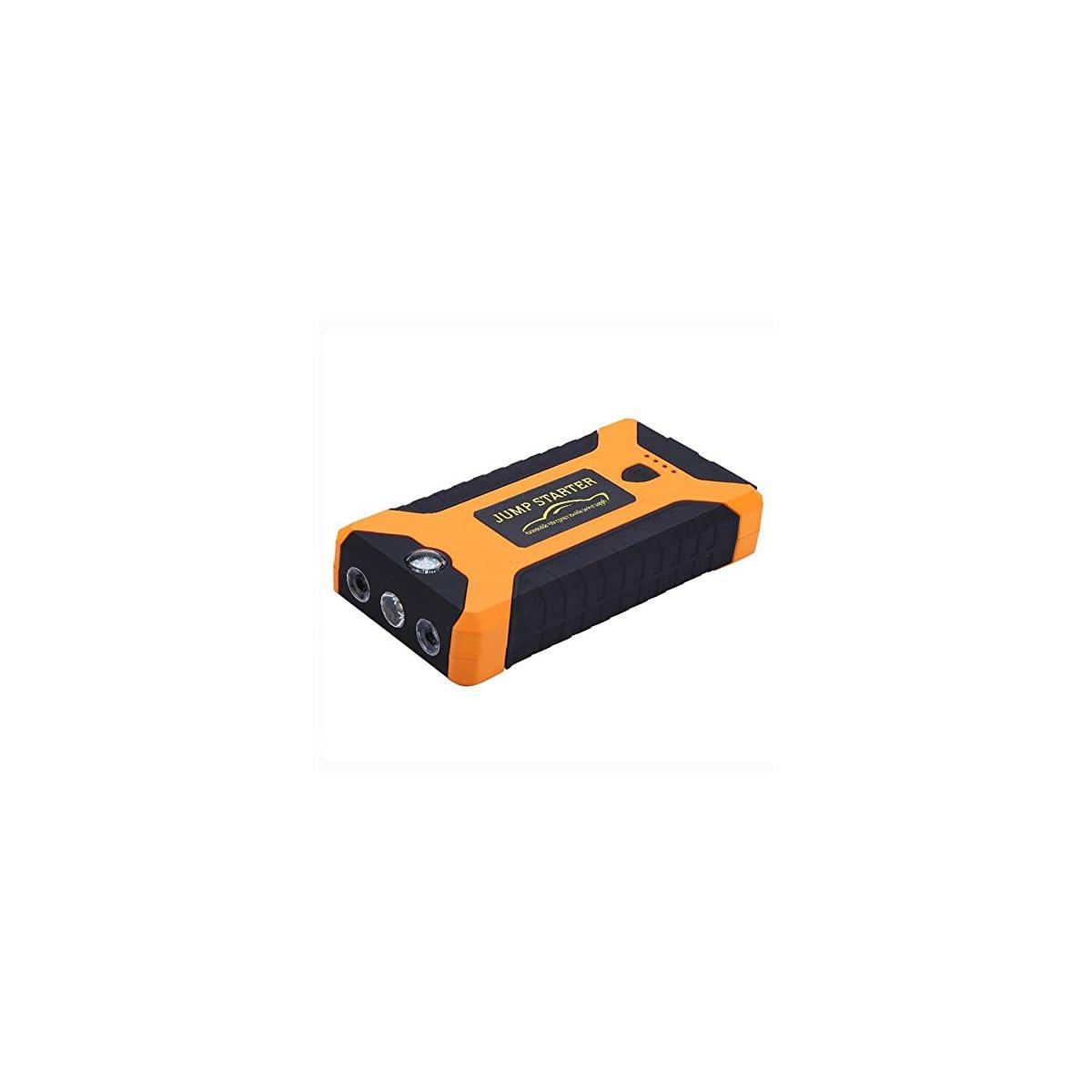 41io3G0sWPL. SS1200  - MIAO Auto Jump Starter - 20000mAh T6 Emergency Power Car fuente de alimentación de emergencia, 12V Car Multi-Output Interface Mobile Power