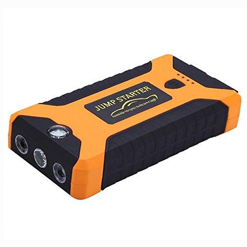 MIAO Auto Jump Starter – 20000mAh T6 Emergency Power Car fuente de alimentación de emergencia, 12V Car Multi-Output Interface Mobile Power