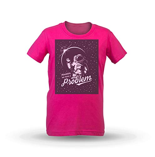 KrisTalas niños Camiseta de Las niñas Astronaut T-Shirt Spaceman T-Shirt Space NASA...