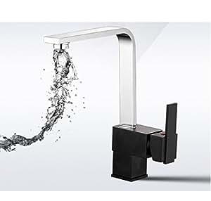 Moderno/contemporaneo lusso elegante cucina rubinetti migliori commerciale moderno maniglia singolo lavello rubinetto senza piombo Lavabo Toccare Finitura cromata