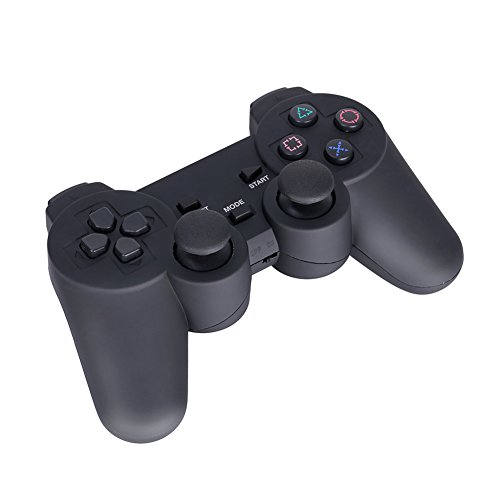 GHB Gamepad Wireless Controller Joypad USB 3-in-1 con Dual Vibrazione Plug Play Compatibile con PS2/PS3 per PC WINDOWS 98/ME/2000/XP/VISTA/7 ecc -