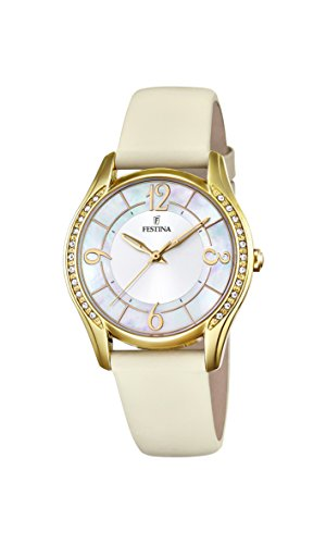 Festina Womens Analogue Quartz Watch with Leather Strap F16945/A