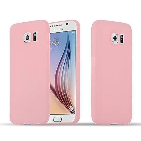 Cadorabo - TPU Ultra Slim Candy Silikon Hülle Case Cover Schutzhülle für Samsung Galaxy S6 (G920F) in