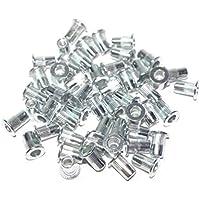 A-RM4 Surtido de tuercas remachables M4 aluminium 50 piezas