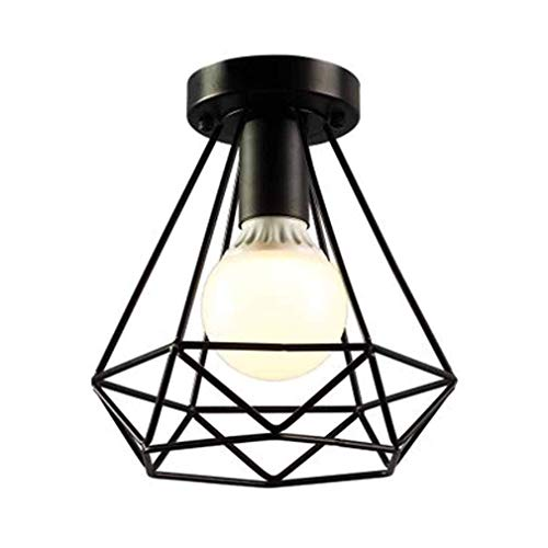 Vampsky Industrial Retro Hierro Luces de techo Lámparas de época Lámparas de...