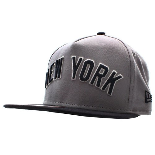 Casquette 9Fifty A-Frame Turnover 2 New York Yankees New Era - Gris/Bleu Marine
