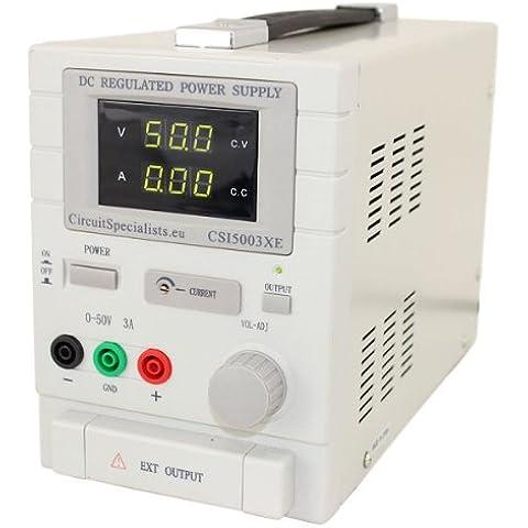 CSI5003XE - Banco de fuente de alimentación variable (DC lineal ajustable 0-50 V 0-3 A)