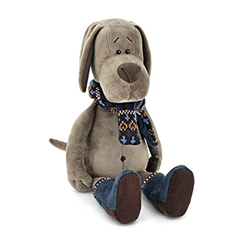 Orange Toys 074/301–Chien dans Cookie Bottes, Collection Life, 50cm, gris/bleu/marron