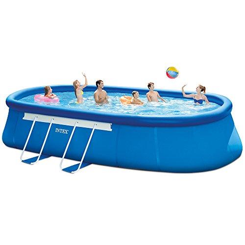 Pool Intex Oval Frame 610x366x122 cm Ovalrohrgriffe