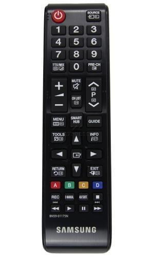 Samsung BN59–01175N Ersatz-Fernbedienung für TV, Schwarz