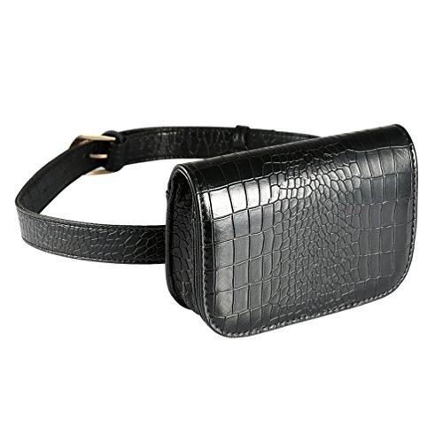 Vbiger Bolsos de cuero de la PU elegante bolso de moda de las señoras