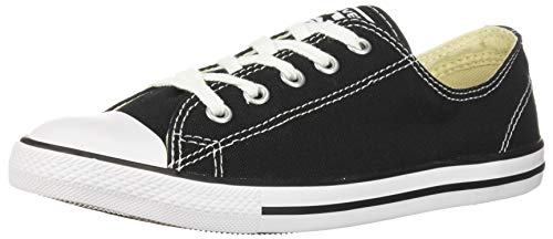 Converse Chuck Taylor Ct As Dainty Ox Canvas, Scarpe da Fitness Donna, Nero (Black 001), 41 EU