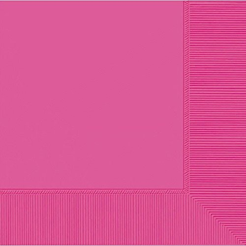 amscan-international-luncheon-napkins-pack-of-20-bright-pink