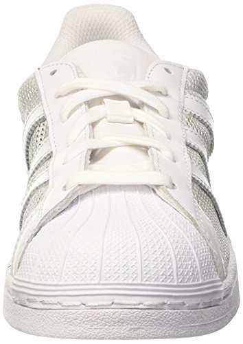 adidas Superstar, Sneakers basses homme Blanc (Footwear White/Footwear White/Footwear White)