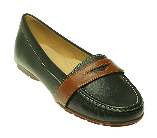 TAPODTSCandy 1 - Mocasines Mujer, Color Negro, Talla 37