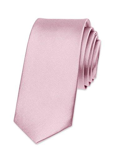 Autiga - Corbata - para hombre rosa claro Talla única