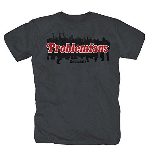 Problemfans Deutschland lebe frei.-T-Shirt (L)