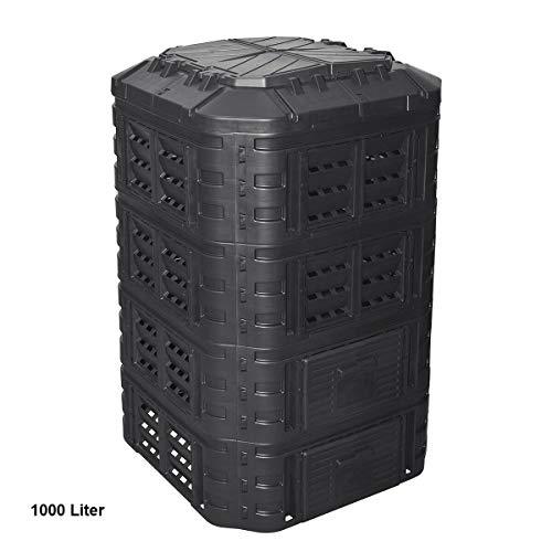 Patrol Thermo Bio 1000 L Multi Komposter Kompostierer Kunststoff kompostieren
