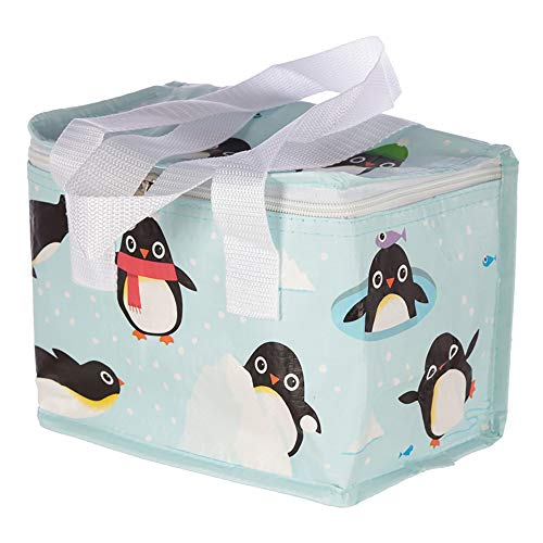 MIK funshopping Mini-Kühltasche Lunchbox Pinguine 16 x 21 x 14 cm - Pinguin Lunch-box