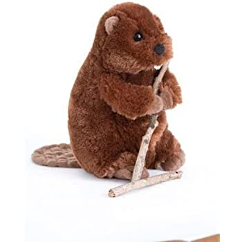 Small Foot 10103 - Peluche - Castor