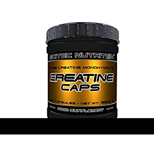 Scitec Nutrition Creatine Creatine, 250 Kapseln, 1er Pack (1 x 193.8g)