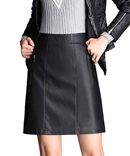 helan-mujeres-la-alta-cintura-de-la-cremallera-decorado-cuero-de-la-pu-de-las-faldas-cortas-negro-eu
