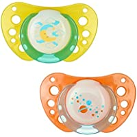 Chicco Soother PH Air Lumi Sil 12 Months, 2 Pieces