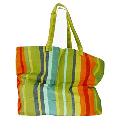 Textiles Fairtrade , Borsa da spiaggia  multicolore Greta Kuna Yala