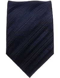 Gadzo Krawatte blau 8 cm breite Seide